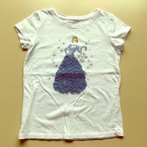 Disney Cinderella Tee in white - VGUC
